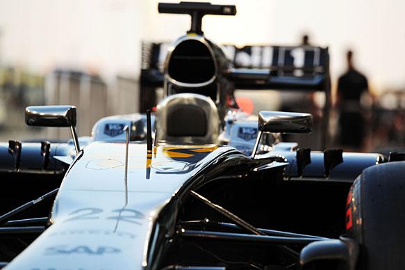 McLaren-Honda sits out morning test