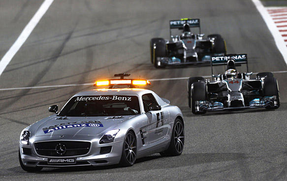 Double points, standing restarts to go