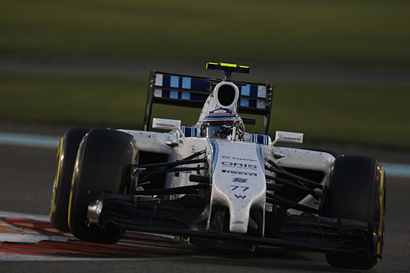 Williams adamant front wing is legal