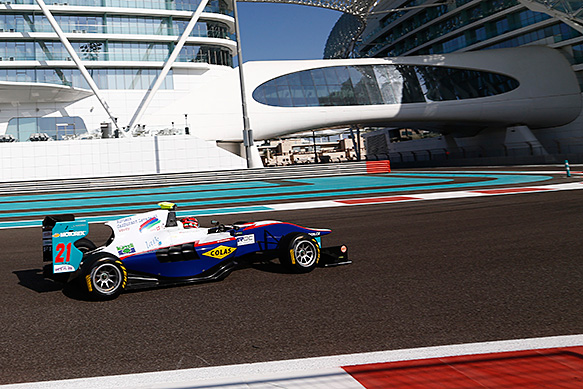Ceccon tops Abu Dhabi GP3 test