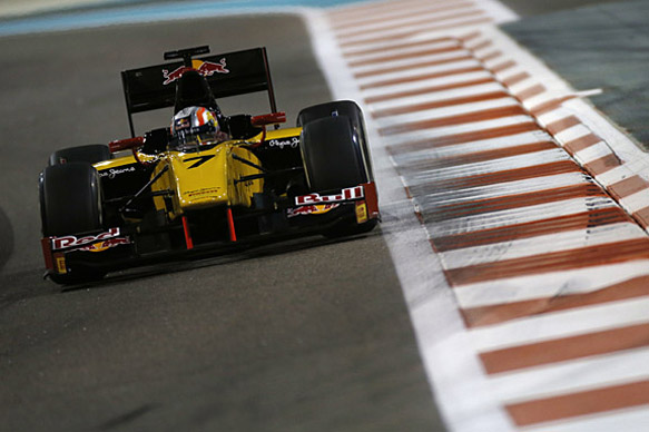 Gasly fastest in Abu Dhabi GP2 test