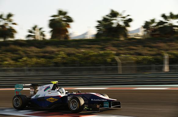 Tuscher fastest in GP3 testing