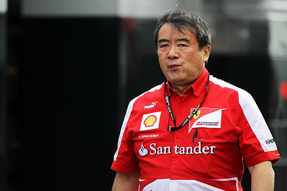 Hamashima joins Ferrari departures