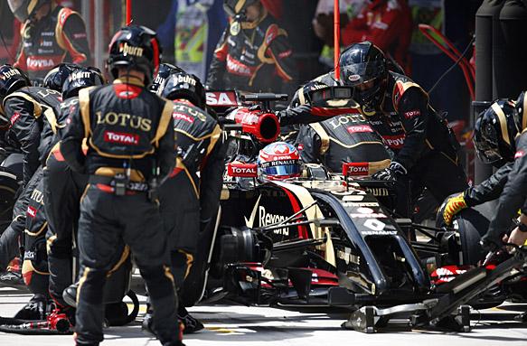 Lotus learned from 2014 - Grosjean