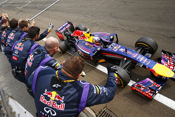 Horner: 2014 one of RBR's best years