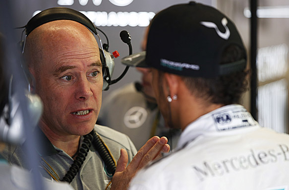 Mercedes man Clear defects to Ferrari