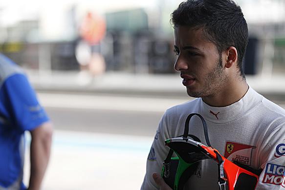 Ferrari protege Fuoco joins Carlin
