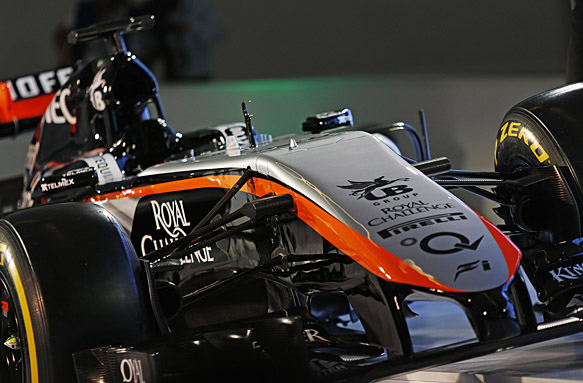Force India 2015 livery launch