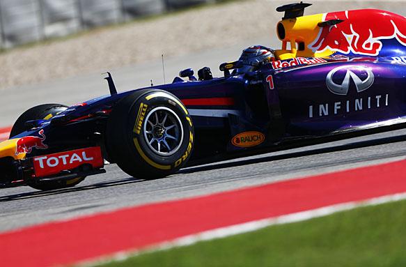 Sebastian Vettel, Red Bull, F1 2014