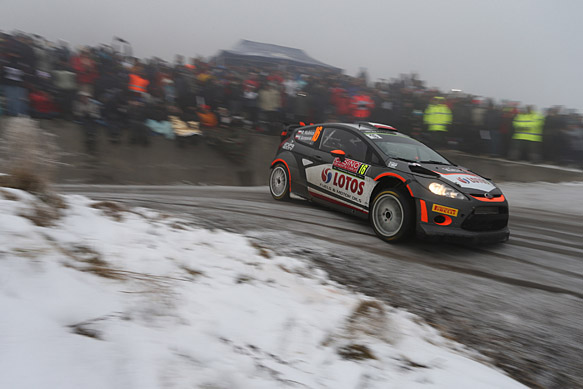 Robert Kubica, RK Ford, Monte Carlo WRC 2015