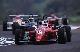 Ozz Negri Jr, Thruxton British F3 1992