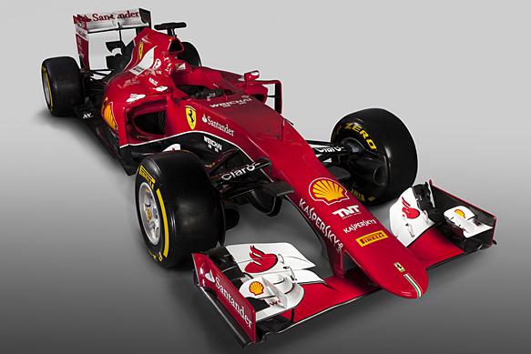 Ferrari latest to unveil 2015 design