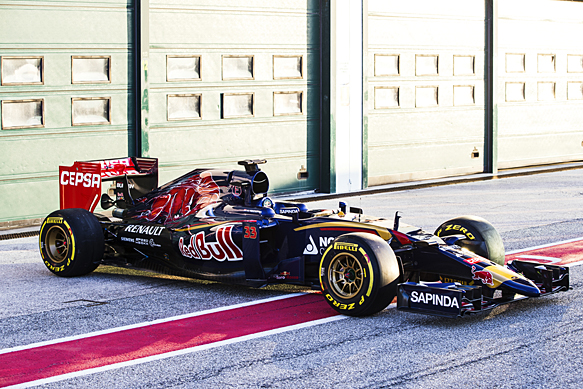 Toro Rosso launches its 2015 F1 car
