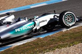 Rosberg Mercedes 2015 Jerez