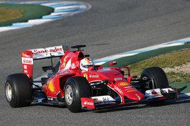 Vettel 2015 Ferrari Jerez