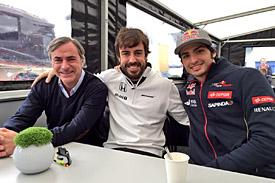 Carlos Sainz, Fernando Alonso, Carlos Sainz