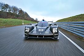 Porsche 919 Hybrid testing