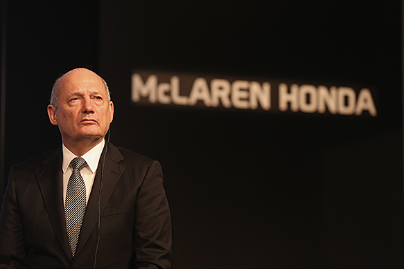 Formula 1 team title sponsors are history - McLaren's Ron Dennis