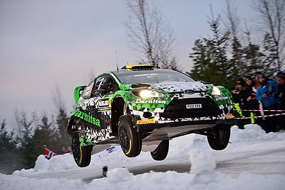 Yuriy Protasov, WRC Sweden 2015