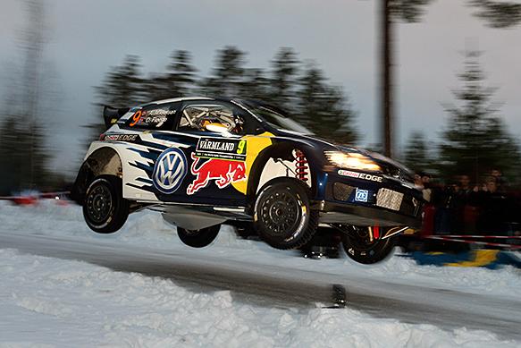 Andreas Mikkelsen, VW, WRC Sweden 2015