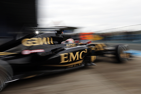 Pastor Maldonado, Lotus, Jerez F1 testing, February 2015