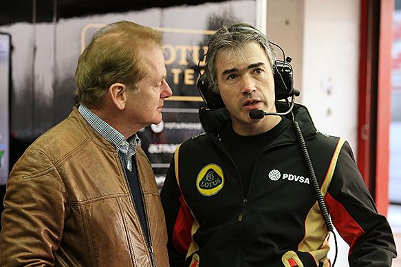 Jonathan Palmer and Nick Chester