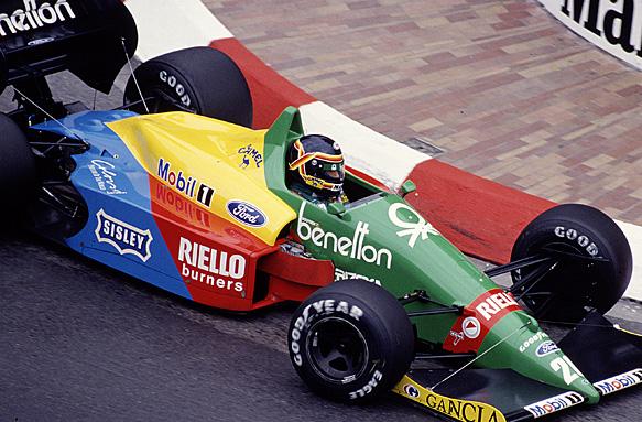 Thierry Boutsen, 1988