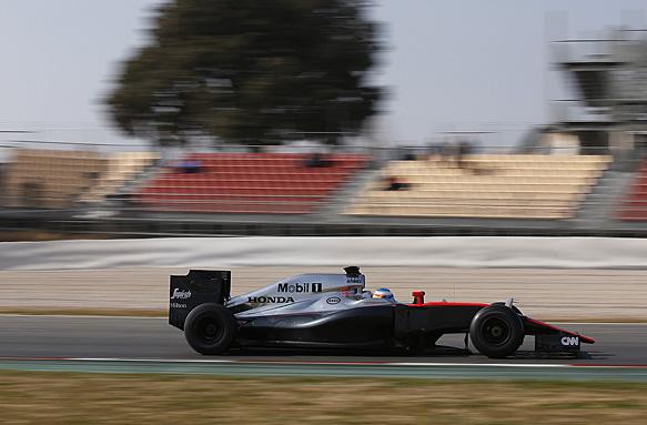 Fernando Alonso, F1 testing 2015