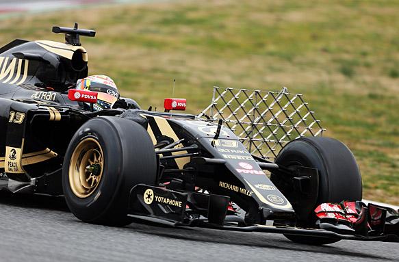 Pastor Maldonado, F1 testing 2015