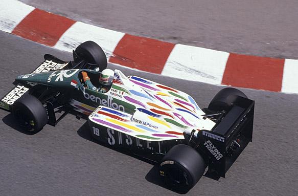 Teo Fabi, 1986 Benetton