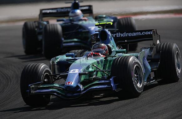 Rubens Barrichello, Jenson Button, Honda 2007