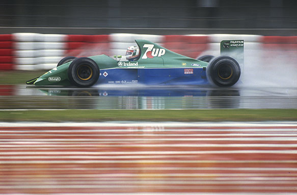 Andrea de Cesaris, 1991 Jordan