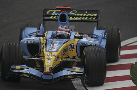 Fernando Alonso, Renault 2005