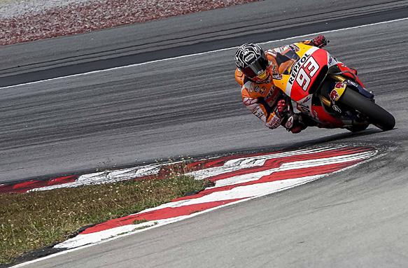 Marc Marquez, MotoGP 2015 testing