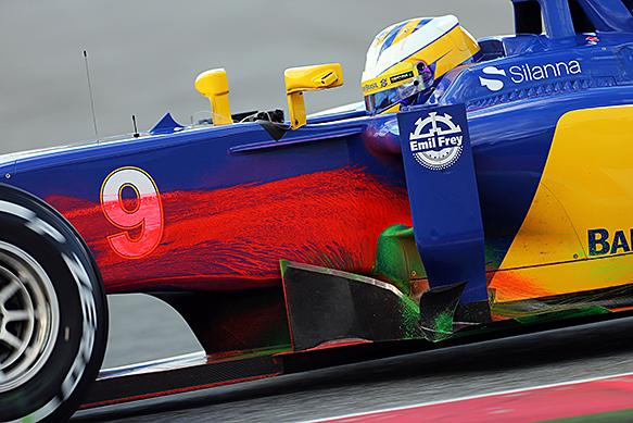 Marcus Ericsson, Sauber, Barceona F1 February 2015