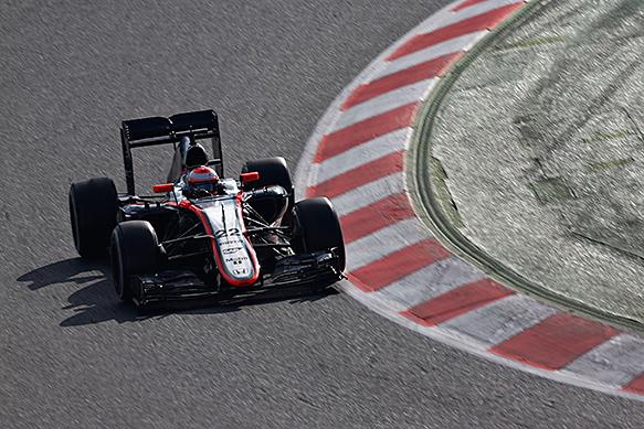Jenson Button, McLaren, Barcelona, February 2015