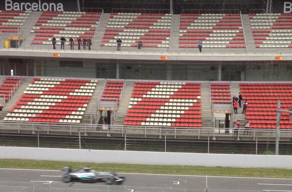 Hamilton, testing, Mercedes