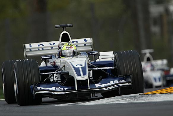Ralf Schumacher, Williams, San Marino GP 2003, Imola