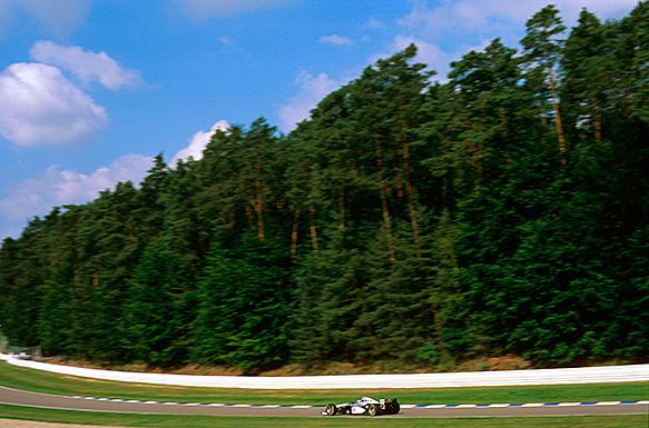 Mika Hakkinen, McLaren, German GP 1997, Hockenheim