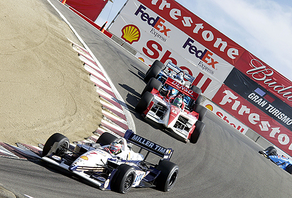 Max Papis, Rahal, Laguna Seca CART 2001