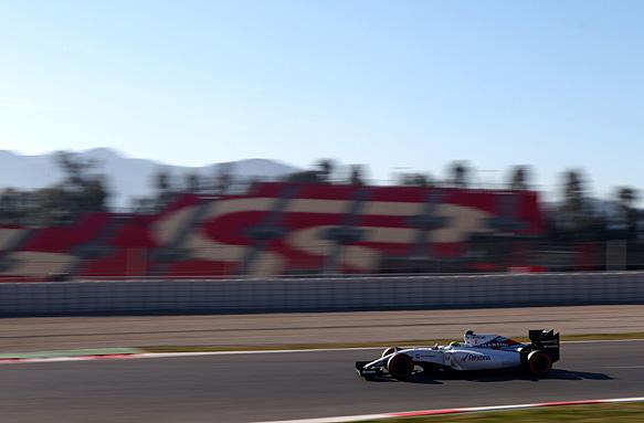 Massa tops day three morning in Spain
