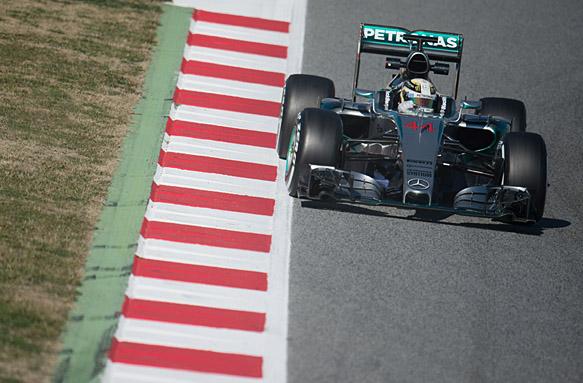 Mercedes fastest again with Hamilton