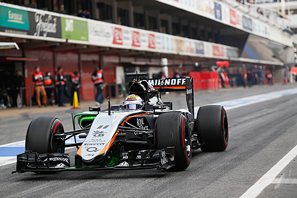 Force India seeks prize money advance