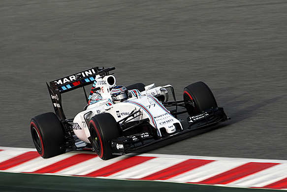 Bottas leads final morning of test
