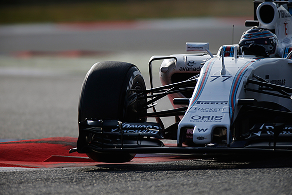 Valtteri Bottas, Williams, Barcelona F1 test, February 2015