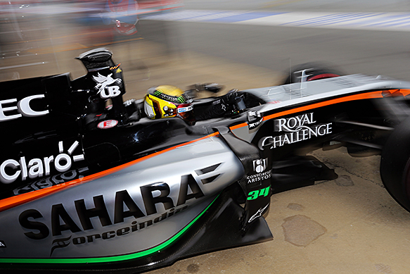 Mercedes made Force India test viable