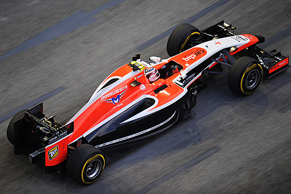 Symonds delighted by Marussia revival