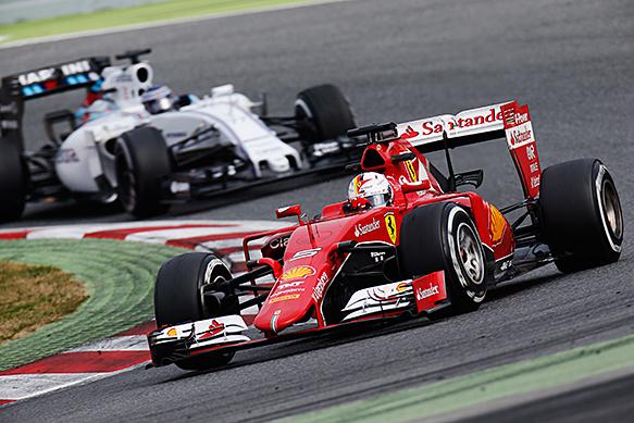 Williams expects 'scrap' with Ferrari