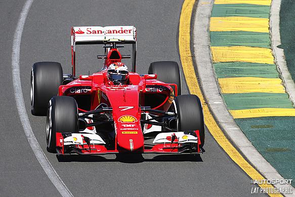 Kimi Raikkonen, Australian GP 2015