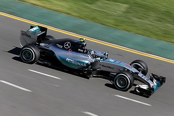 Nico Rosberg, Mercedes, Australian GP 2015, Melbourne